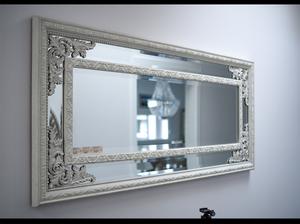 Bilde av Speil 140x60 med antikk decor