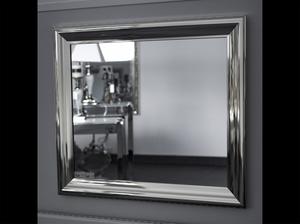 Bilde av Speil blank sølv 80x70 cm