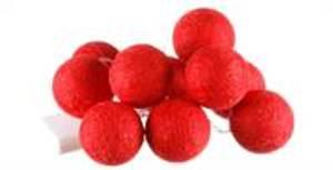 Bilde av Lysslynge røde baller 10stk,