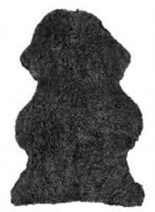 Bilde av Australsk lammeskinn mørk grå