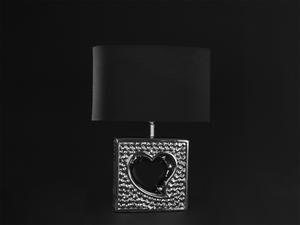 Bilde av Bordlampe Hjerte m/oval sort