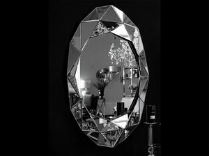 Bilde av Speil ovalt m/speilramme