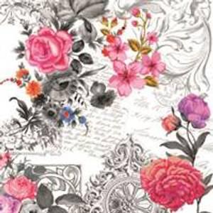 Bilde av Serviett Royal Rose