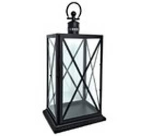 Bilde av Lanterne Sort rustfritt stål