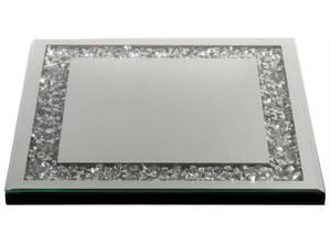 Bilde av Lysfat 30 x 30 cm Sølv med