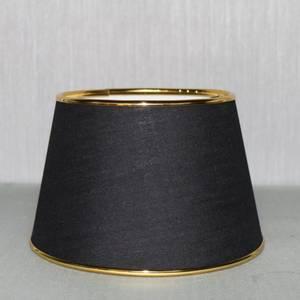 Bilde av Lampeskjerm Marte sort/gull