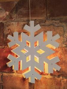 Bilde av Adventstjerne snøkrystall 80