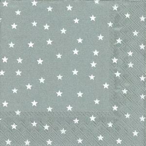 Bilde av Serviett solv med stjerner 20