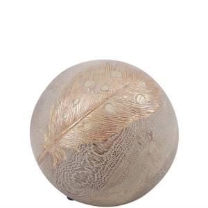Bilde av Dekoration Ball feathers Ø 12