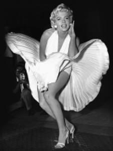 Bilde av Marilyn Monroe seven year...