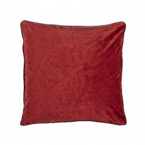Bilde av Putetrekk  Velvet rød 45x45