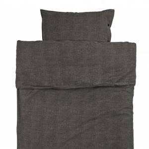 Bilde av Eden sengesett bomull grå