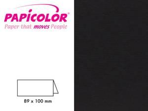 Bilde av Bordkort sort 89x100 mm
