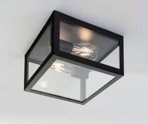 Bilde av Plafond Dovre Sort/glass