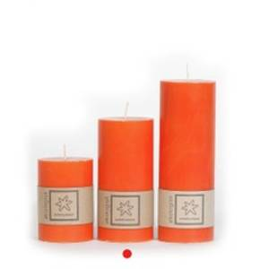 Bilde av Kubbelys Orange 100 % stearin