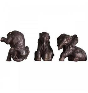 Bilde av Elefant Grå/brun stående på