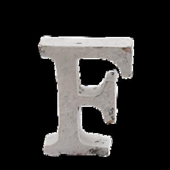 Hvite trebokstaver