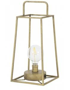 Bilde av Bordlampe 17x17x37 cm Antique