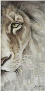 Bilde av Leretsbilde Løve 70x140