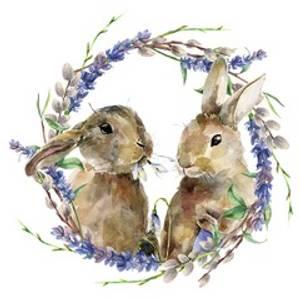 Bilde av Serviett lunsj Rabbit 25x25