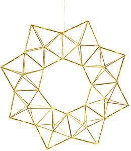 Bilde av Adventstjerne metall gull 40