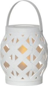Bilde av Lanterne Flame hvit