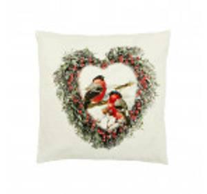 Bilde av Julepute med julemotiv/dompap