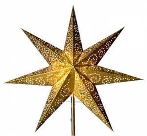 Bilde av Adventstjerne antikk/gull