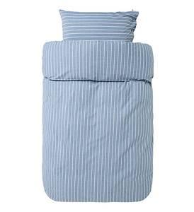 Bilde av Lyngør sengesett blått