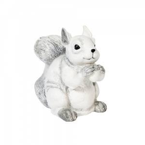 Bilde av Ekorn hvit poly 15x14 cm