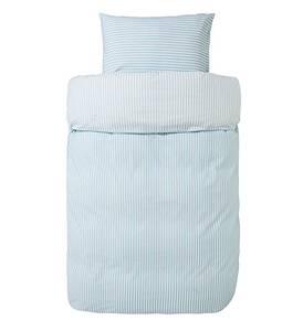 Bilde av Karmøy sengesett lysblå