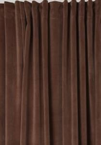 Bilde av Fløyelsgardin Velvet brun