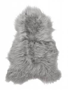 Bilde av Islandsk lammeskinn grå