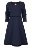Bilde av Magda marineblå kjole