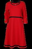 Bilde av Magda rød kjole