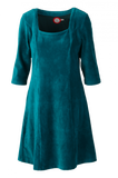 Bilde av Milla kjole babycord petrol