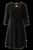 Bilde av Milla kjole babycord sort