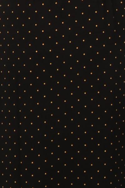 Bilde av Tille maxikjole sort polkadot