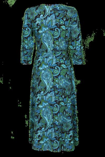 Bilde av Glory Blå paisley kjole