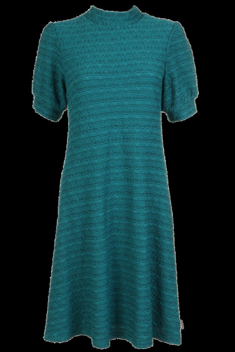 Eli Elegant sjøgrønn kjole