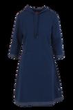 Bilde av Dagny Sporty blå hvit kjole
