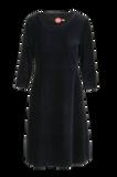 Bilde av Elli kjole babycord blå