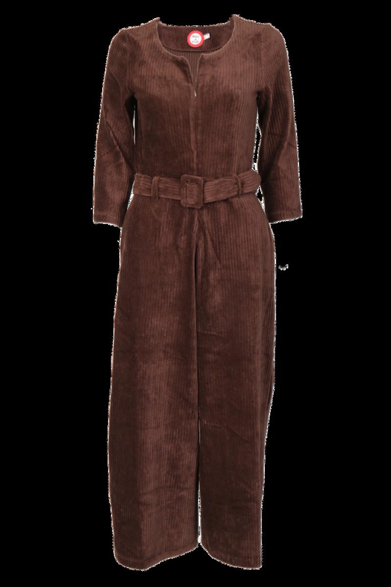 Eveline brun jumpsuit