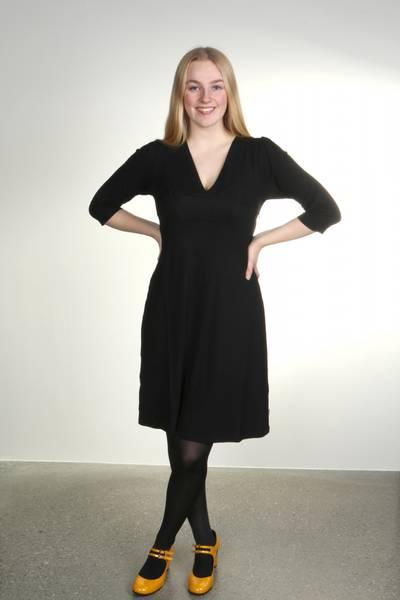 Bilde av Greta Sort elegant kjole