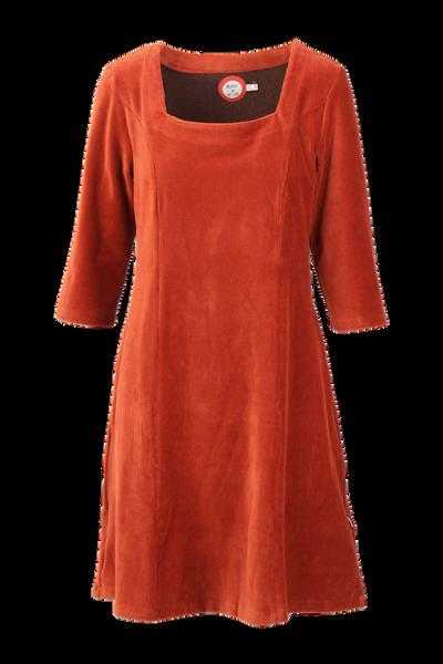 Bilde av Milla kjole babycord rust