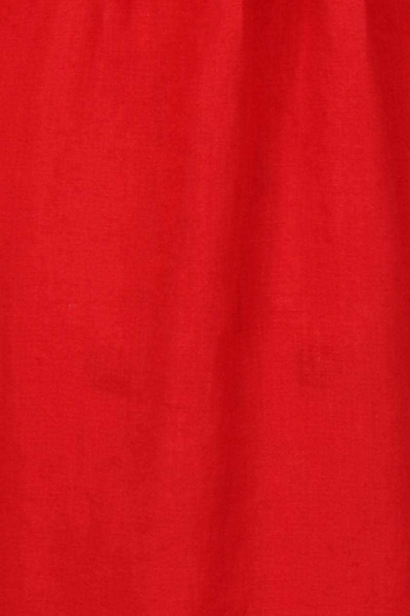 Samanta rød linkjole/skjorte