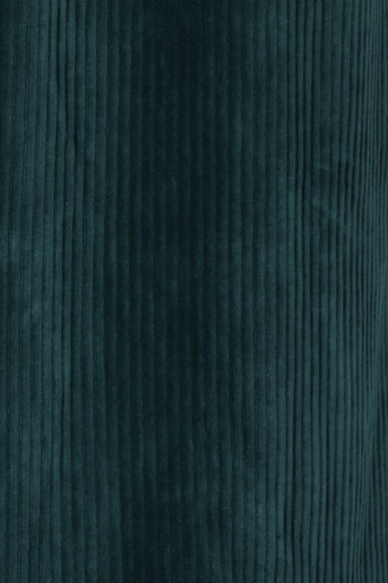 Katinka flaskegrønn velurkjole