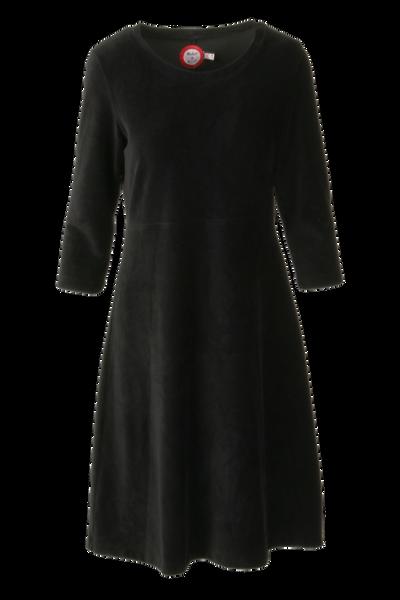 Bilde av Elli kjole babycord sort