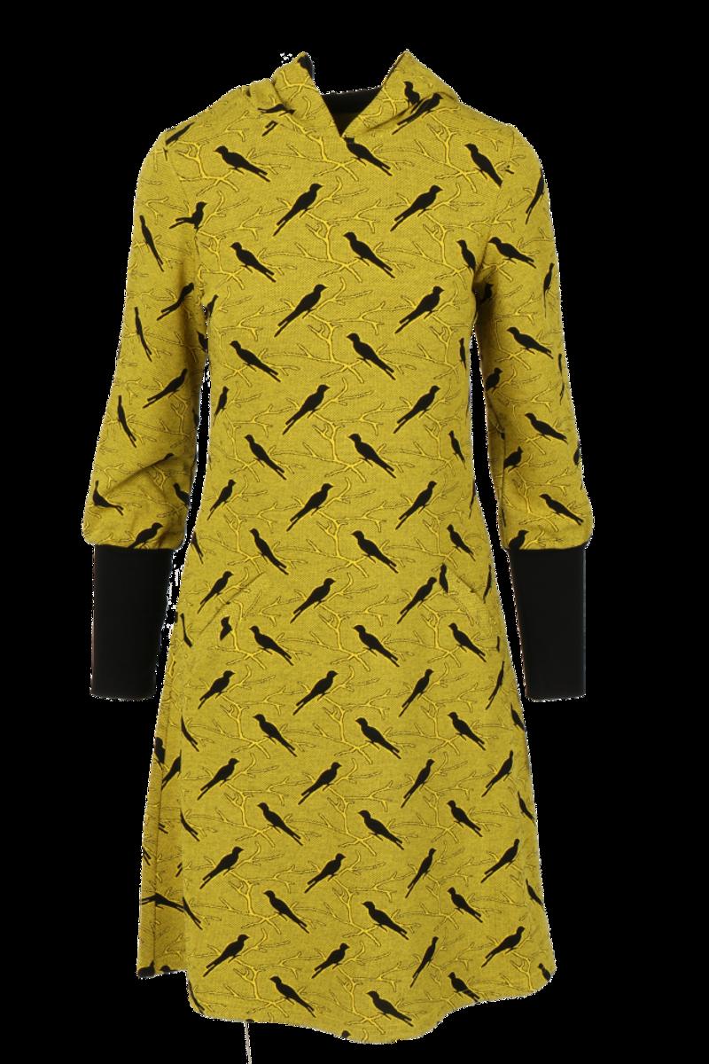 Brynhild Gul kjole