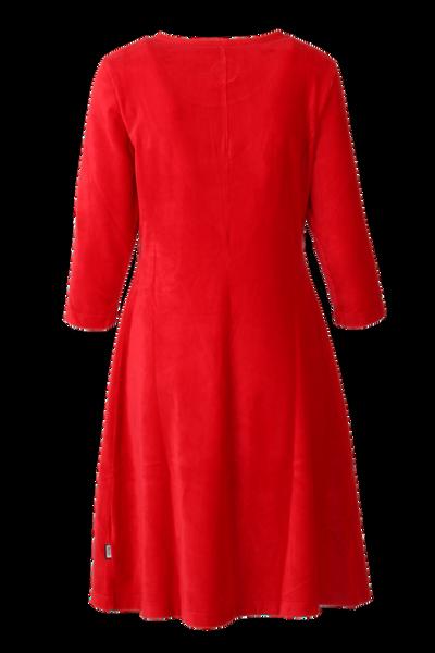 Bilde av Elli kjole babycord rød
